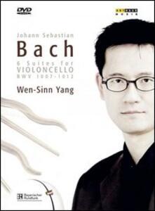 Johann Sebastian Bach. 6 Suites for Violoncello BWV 1007-1012 (2 DVD) - DVD