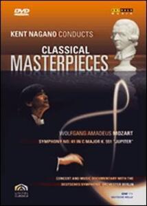 Kent Nagano Conducts Classical Masterpieces. Vol. 1. Mozart - DVD