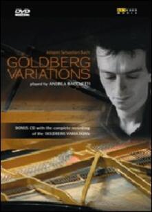 Andrea Bacchetti. Bach. Variazioni Golgberg BWW 988 (DVD) - DVD di Johann Sebastian Bach,Andrea Bacchetti