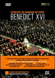 Concert In Honour of Pope Benedict XVI - DVD