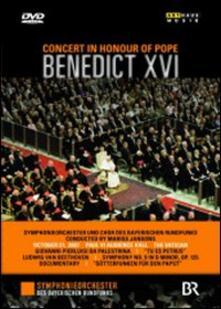 Concert In Honour of Pope Benedict XVI - DVD