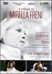 Mirella Freni. A tribute to Mirella Freni (3 DVD) - DVD