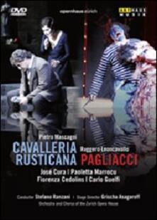 Pietro Mascagni. Cavalleria rusticana - Ruggero Leoncavallo. Pagliacci (DVD) - DVD di Pietro Mascagni,Ruggero Leoncavallo,José Cura