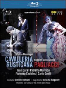 Pietro Mascagni. Cavalleria rusticana - Ruggero Leoncavallo. Pagliacci di Grischa Asagaroff - Blu-ray