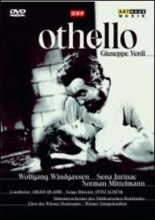 Giuseppe Verdi. Othello. Otello (DVD) - DVD di Giuseppe Verdi,Wolfgang Windgassen,Sena Jurinac,Argeo Quadri