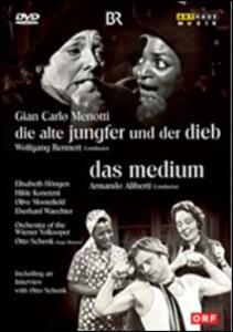 Gian Carlo Menotti. The Medium, The old Man and the Thief di Gerhard Hruby - DVD