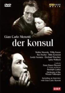 Gian Carlo Menotti. Der Konsul. The Consul - DVD