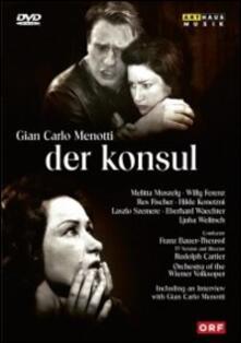 Gian Carlo Menotti. Der Konsul. The Consul (DVD) - DVD di Giancarlo Menotti