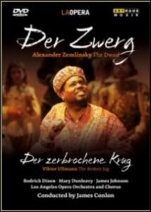 Alexander Von Zemlinsky. Der Zwerg. Der Zerbrochene Krug - DVD