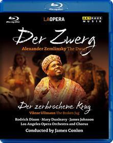 Alexander Von Zemlinsky. Der Zwerg. Der Zerbrochene Krug (Blu-ray) - Blu-ray di Alexander Von Zemlinsky,James Conlon