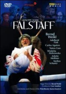 Giuseppe Verdi. Falstaff (DVD) - DVD di Giuseppe Verdi,Bernd Weikl