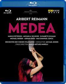 Aribert Reimann. Medea (Blu-ray) - Blu-ray di Aribert Reimann