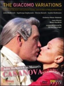 The Giacomo Variations (DVD) - DVD di John Malkovich