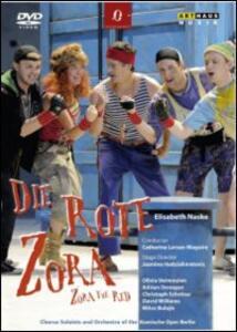 Elisabeth Naske. Die Rote Zora. Zora The Red di Jasmina Hadziahmetovic - DVD