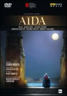 Giuseppe Verdi. Aida (DVD) - DVD di Giuseppe Verdi,Zubin Mehta,Luciana D'Intino,Marco Berti,Hui He