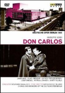 Giuseppe Verdi. Don Carlo di Gustav Rudolf Sellner - DVD