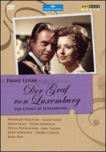 Franz Lehar. Der Graf Von Luxemburg di Wolfgang Gluck - DVD