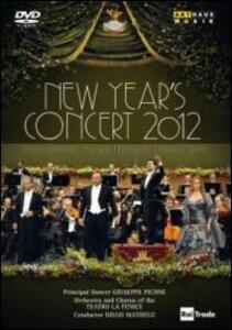 New Year's Concert 2012. Gran Teatro La Fenice - DVD