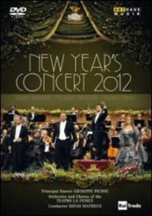 New Year's Concert 2012. Gran Teatro La Fenice (DVD) - DVD di Jessica Pratt