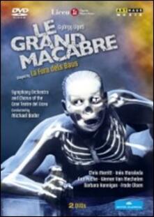György Ligeti. Le Grand Macabre (2 DVD) - DVD di György Ligeti