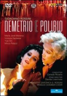 Gioacchino Rossini. Demetrio e Polibio di Davide Livermore - DVD