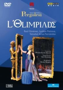 Giovanni Battista Pergolesi.L'olimpiade (2 DVD) - DVD di Giovanni Battista Pergolesi,Alessandro De Marchi