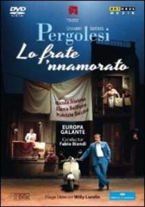 Giovanni Battista Pergolesi. Lo frate 'nnamorato (2 DVD) di Willy Landin - DVD