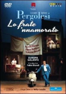 Giovanni Battista Pergolesi. Lo frate 'nnamorato (2 DVD) - DVD di Giovanni Battista Pergolesi,Fabio Biondi,Nicola Alaimo
