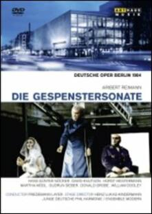 Aribert Reimann. Die Gespenstersonate (DVD) - DVD di Friedemann Layer,Aribert Reimann