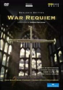 Benjamin Britten. War Requiem (DVD) - DVD di Benjamin Britten,City of Birmingham Symphony Orchestra,Mark Padmore,Hanno Müller-Brachmann,Andris Nelsons