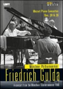 Friedrich Gulda. Mozart. Piano Concertos Nos. 20 & 26 - DVD