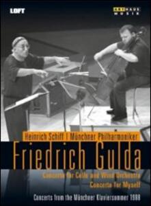 Friedrich Gulda. Concerto for Cello and Wind Orchestra - DVD