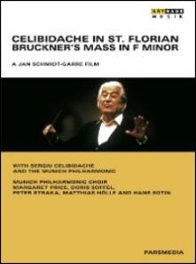 Celibidache in St. Florian. Bruckner's Mass in F Minor di Jan Schmidt-Garre - DVD