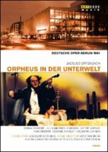 Jacques Offenbach. Orpheus in der unterwelt. Orfeo all'inferno (2 DVD) di Gotz Friedrich - DVD