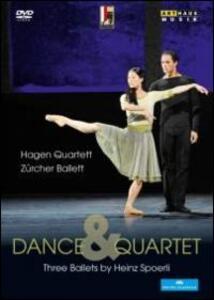 Dance & Quartet. Three Ballets by Heinz Spoerli - DVD