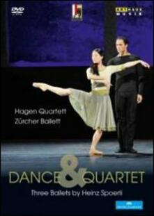 Dance & Quartet. Three Ballets by Heinz Spoerli - DVD