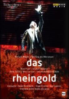 Richard Wagner. Das Rheingold. L'oro del Reno di Guy Cassiers - DVD