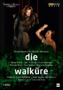 Richard Wagner. Die Walkure. La valchiria (2 DVD) di Guy Cassiers - DVD