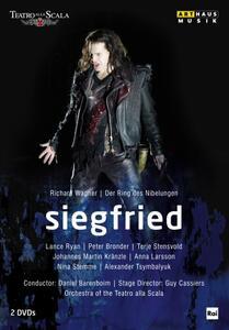 Richard Wagner. Siegfried (2 DVD) di Guy Cassiers - DVD
