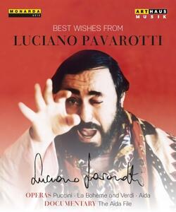 Giacomo Puccini. La Bohème. Best Wishes From Pavarotti, 80th Birthday Edition 2 (3 Blu-ray) - Blu-ray