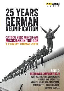25 Years German Reunification. Beethoven. Sinfonia n.9 (2 DVD) di Thomas Zintl - DVD