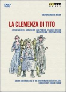 Wolfgang Amadeus Mozart. La clemenza di Tito di Goran Jarvefelt,Thomas Olofsson - DVD
