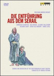 Wolfgang Amadeus Mozart. Die Entfuhrung aus dem Serail. Il Ratto del Serraglio di Harald Clemen,Goran Jarvefelt - DVD