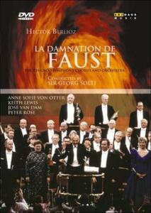 Hector Berlioz. La damnation de Faust. La dannazione di Faust di Rodney Greenberg - DVD