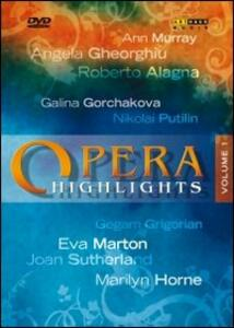 Opera Highlights. Vol. 1 - DVD
