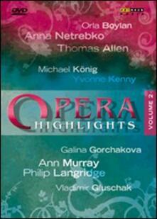 Opera Highlights. Vol. 2 - DVD