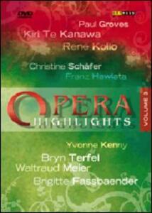 Opera Highlights. Vol. 3 - DVD