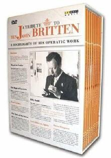 A Tribute to Benjamin Britten (8 DVD) di Tim Albery,Colin Graham,Michael Hampe,Petr Weigl,Margaret Williams