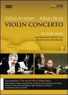 Alan Berg. Concerto per violino - DVD