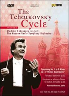 The Tchaikovsky Cycle Vol. 1. Symphony No. 1 - Rococo Variations - DVD
